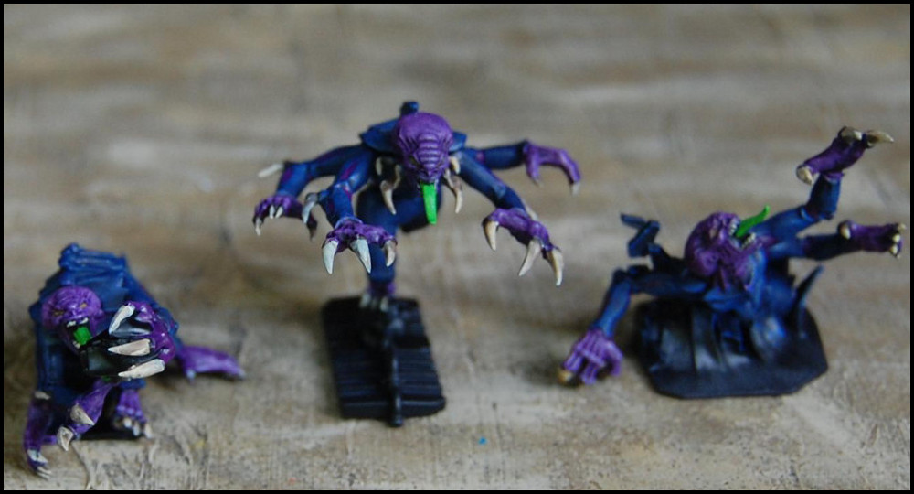 WiP Genestealers from Space Hulk 3; by Brian @Lead Legion